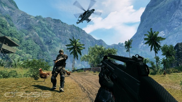 CRYSIS - who shot the chicken?