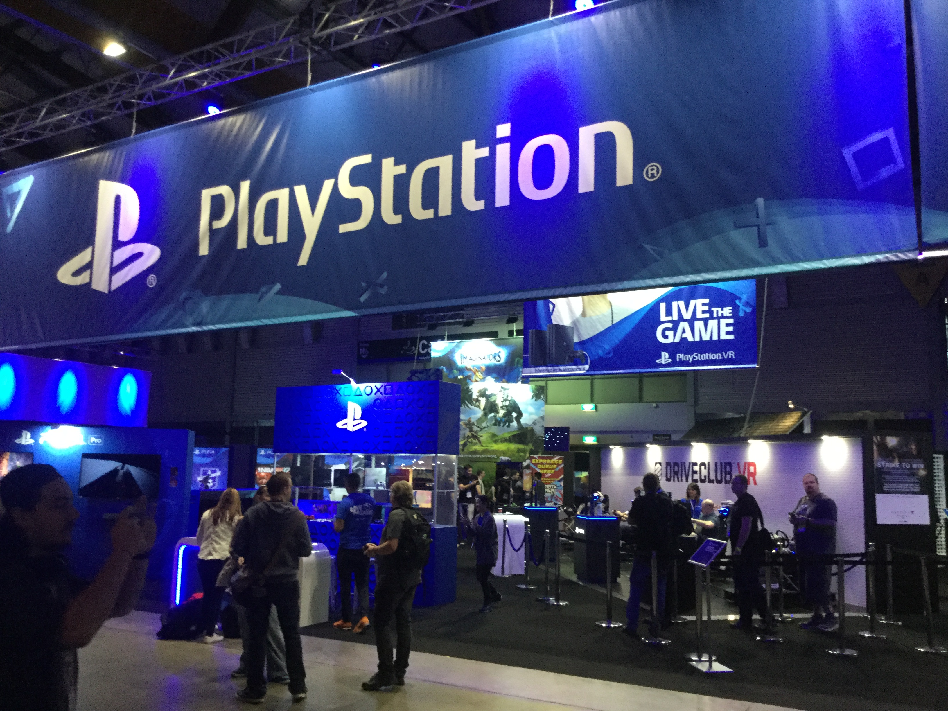 PlayStation Stand EBExpo16