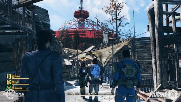 Fallout 76 a Town