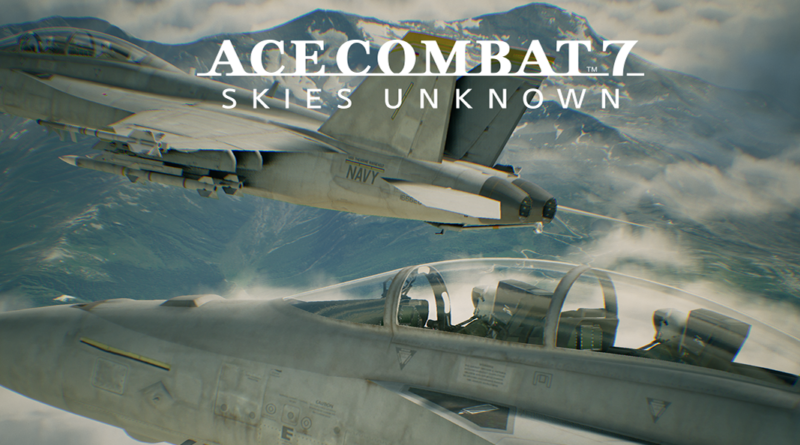 Ace Combat 7: Skies Unknown, PS4/PSVR Video Review
