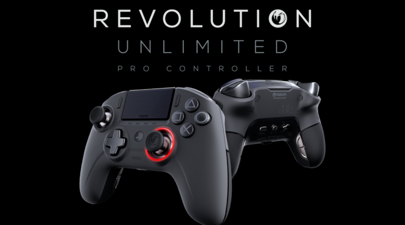 Nacon Revolution Unlimited PS4 controller, Video Review