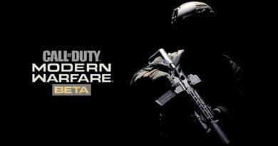 CoD: Modern Warfare 2019 – M/P Beta