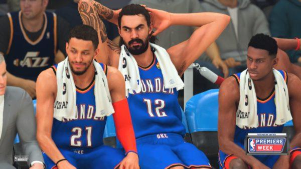 Warming the NBA 2K20 Bench