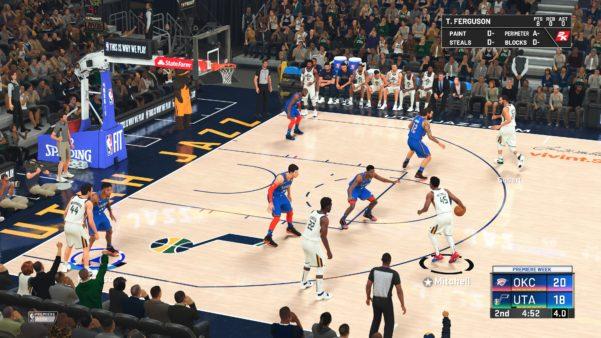 NBA 2K20 at Lieflike Graphics
