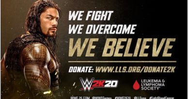 Roman Reigns Leukaemia