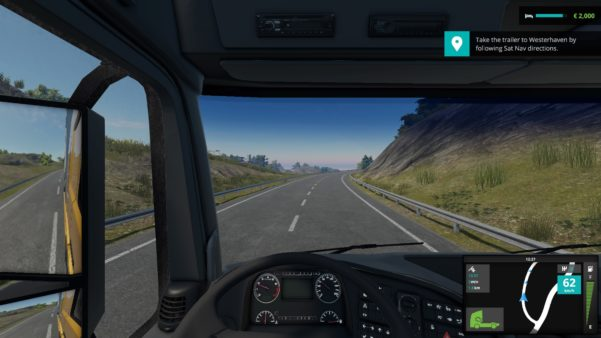 Avoiding traffic in Truck Driver