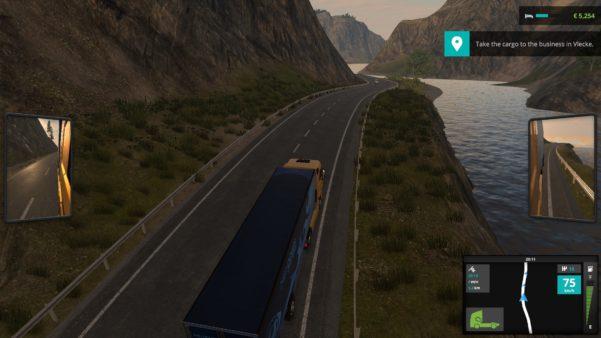 Truck Driver in an open world