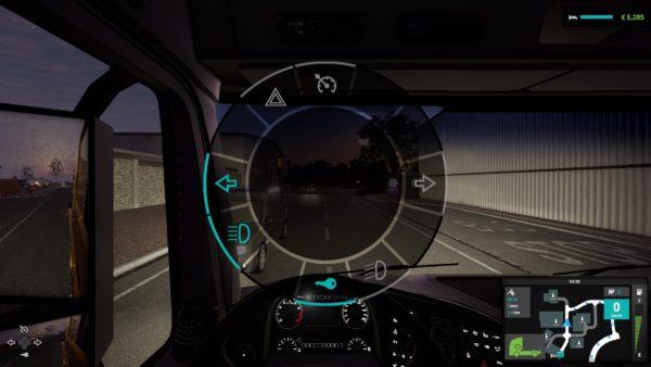 Truck Driver HUD