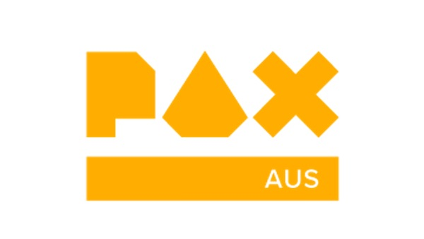 A logo for PAXAus 2019