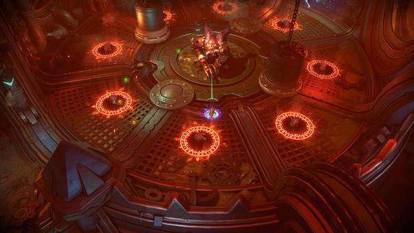 Arena fun in Darksiders