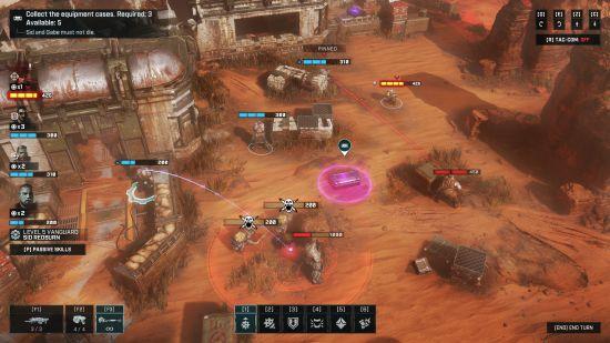 Gears Tactics in action
