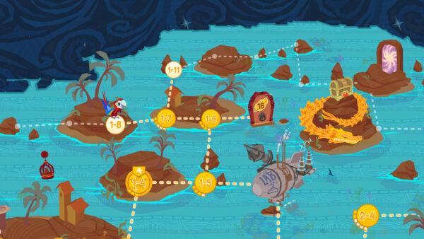 Fledgling Heroes Map