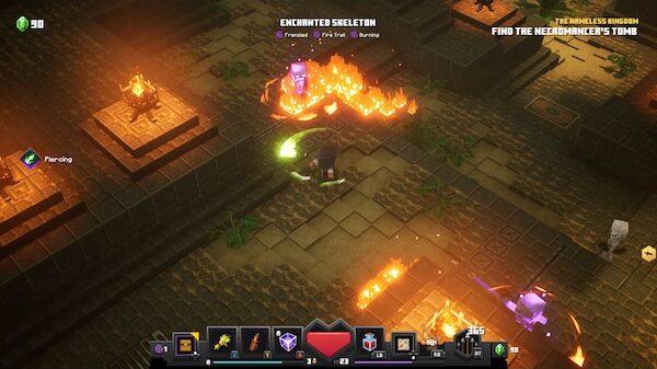 Minecraft Dungeons Super Skelly