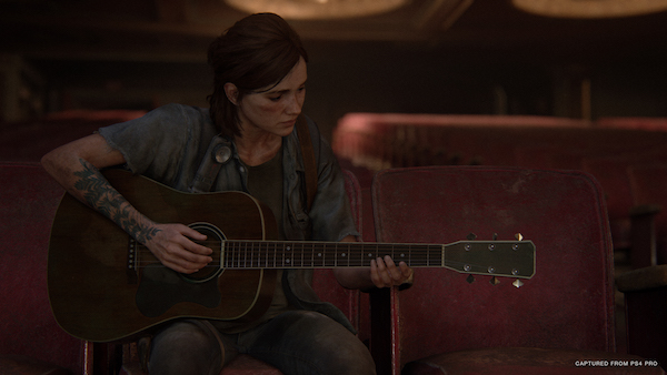 The Last of Us Part 2 Ellie on Bass