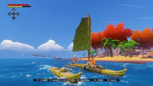 Windbound being nautical